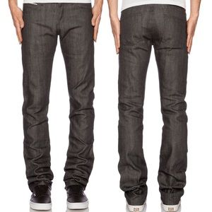 Revolve Naked & Famous WeirdGuy Jeans Charcoal 30